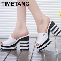 $24.50 (Buy here: https://alitems.com/g/1e8d114494ebda23ff8b16525dc3e8/?i=5&ulp=https%3A%2F%2Fwww.aliexpress.com%2Fitem%2F2016-new-sandalas-women-genuine-leather-sandals-thick-heel-slippers-woman-platform-wedges-summer-shoes-pumps%2F32698860370.html ) 2016 new sandalas women genuine leather sandals thick heel slippers woman platform wedges summer shoes pumps woman flip flops for just $24.50