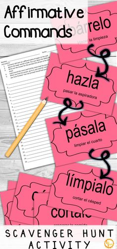 Looking for a fun game to practice commands with your Spanish classes? This activity will get your students up and moving, while providing instant feedback! It's so fun, you have to try it! Click to see how!