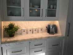 Pro #2070911 | West Michigan Granite, Inc. | Grandville, MI 49418 Grandville Mi, Backsplash, Granite, Countertops, Tile Floor, Michigan, Tiles, Kitchen Cabinets, Flooring