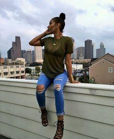 60 beautiful girly outfit ideas to try now 40 Fashion Killa, Look Fashion, Urban Fashion, Autumn Fashion, Dope Outfits, Casual Outfits, Fashion Outfits, Womens Fashion, Looks Teen