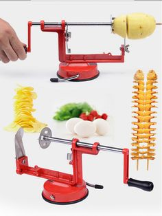 High quality hand potato machine / new stainless steel slicer / Tornado Potato machine tool 2015 Stainless fruits and vegetables