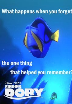 The long awaited sequel to Finding Nemo is here, Dory is on a hunt for her family! Will Dory be able to remember long enough to find them? Disney Pixar, Walt Disney, New Disney Movies, Disney And Dreamworks, Disney Love, Disney Magic, New Movies, Disney Stuff, Funny Disney