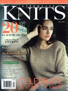 Interweave Knits Magazine | 9/2016 Cover