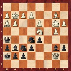 Daily Chess Training: From this week's TWIC download: Lisenko-Sveshnikov World Senior (Bled) 2018 Black to move - how should he best continue? (more than the first move needed for a complete answer)