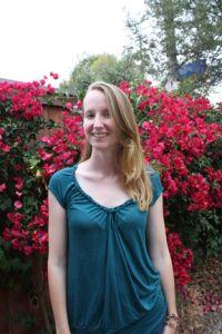 Her New Leaf: DIY Braided Neck T Shirt