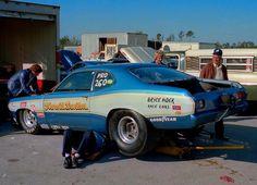 Vintage Drag Racing - Pro Stock - Harold Denton's Mopar