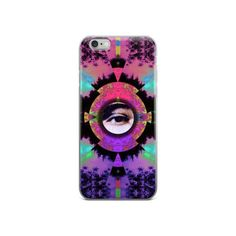 Visionary Expansion Graphic iPhone Case