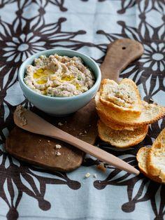 Recipes | Cannellini Bean Tuna Dip | Louise Fulton Keats