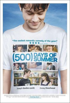 500 Days of Summer Autograph Poster Zooey Deschanel Joseph Gordon Levitt Joseph Gordon Levitt, Zooey Deschanel, 500 Days Of Summer, Summer 3, Dirty Dancing, Card Writer, Summer Poster, Drame, Film Serie