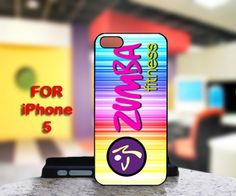 Zumba Fitness Logo For IPhone 5 Black Case Cover
