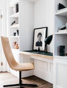 Modern Home Office Design Ideas For Inspiration - Di Home Design Interior Design Companies, Office Interior Design, Home Office Decor, Office Interiors, Home Decor, Office Ideas, Modern Interiors, Entryway Decor, Interiors Online