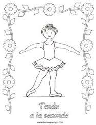 Ballet Positions Coloring Pages Free - Coloring Page Ballerina Coloring Pages, Dance Coloring Pages, Coloring Sheets, Baby Ballet, Ballet Kids, Ballet Dance, Ballet Class, Teach Dance, Dance Camp