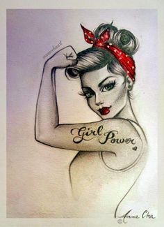 Art of the Pin-Up Girl: The Discovery of Anne Cha and the #GirlPower Movem...