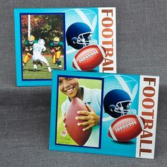 Football Themed Frames