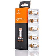 Geekvape Aegis Replacement G.Coils ST 0.6ohm and 0.4ohm are a set of durable, high-performance refined Kanthal mesh coils specifically crafted for use with the impressive Geekvape Aegis Pod System. Vape Accessories, Packing, Mesh, Collections, Crafts, Bag Packaging, Manualidades, Handmade Crafts, Craft