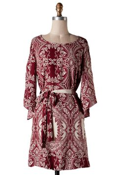 Southern Grace Dress in Burgundy || The Dandy Lion Boutique || Southern Boutique || New Arrivals