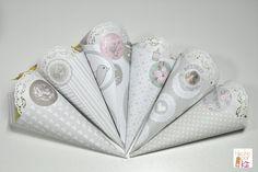Si vas a preparar arroz o confeti para tu boda no te puedes perder este paso a paso: como hacer conos de papel