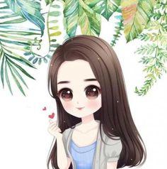 55 Ideas wedding invitations illustration behance for 2019 Girl Cartoon Characters, Cartoon Girl Images, Cute Cartoon Pictures, Cute Cartoon Girl, Cute Love Cartoons, Cartoon Girl Drawing, Cartoon Art, Cartoon Ideas, Chica Gato Neko Anime