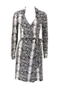 #reptilia - Little Lies Snake Print Jersey Wrap Dress $99 @ The Dreamery     http://www.the-dreamery.com/Wardrobe/Day-Dresses/Snake-Print-Jersey-Wrap-Dress