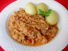 Weißkohl - Hackfleisch - Pfanne, ein sehr leckeres Rezept aus der Kategorie Gemüse. Bewertungen: 81. Durchschnitt: Ø 4,2.