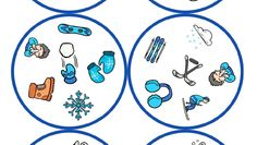 juego-de-mesa-dobble-motivos-llega-el-frio_page-0002 - Orientación Andújar - Recursos Educativos English Lessons, Winter, Cold, Entryway, Games, Environment, Noel, January, Winter Time