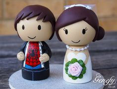 We are having these customized for our cake topper. Too dang cute!