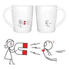 "BoldLoft ""You're Irresistible"" Couple Coffee Mug Set"