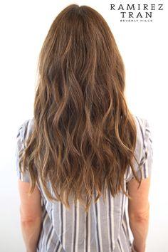 subtle highlights on brunette hair Archives - Ramirez | Tran Salon
