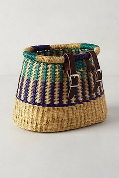Asungtaba Bicycle Basket - Anthropologie
