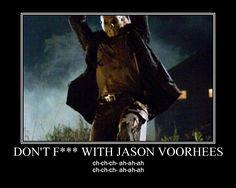 OMG! Jason Voorhees Friday the 13th. Totally awesome!