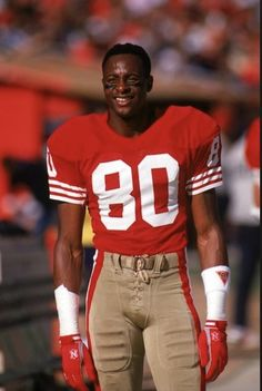 The Great Jerry Rice 49ers Players, Football Players, Nfl 49ers, Leg Day Workouts, Nfl History, Football Conference, Sport Football, Football Moms, School Football