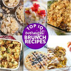 Top 10 Overnight Brunch Recipes