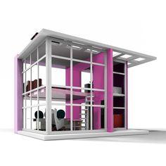 Modern Doll House.