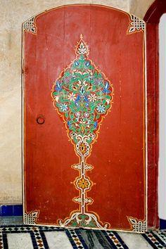 Africa   Door in the Marrakech City Museum. Morocco © Daniel Nadler