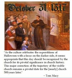 Laus Deo: Justifying a Celebration of Reformation Day?