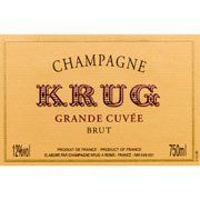 Champagne Krug Grande Cuvee with Gift Box from Champagne, France - Deep golden color and fine, vivacious bubbles, predicting fullness and elegance. Aromas of flowers in bloom, ripe and ...