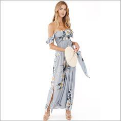 Charlotte Off The Shoulder Dress. Lovestoned | Plum Pretty Sugar