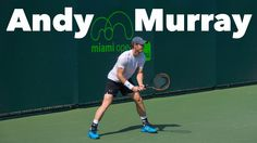 Andy Murray's tennis training at the Miami Open 2015. Look closely at his footwork and you will be able to see clearly that he's doing split step on every shot that his opponent is hitting back to him.  Great example to follow!  - - - -   Andy Murray à l'entraînement à l'Open de Miami 2015 Regardez attentivement le jeu de jambes de Murray pour remarquer comment il exécute son allègement sur chacune des balles qu'il reçoit.  Excellent exemple à suivre.