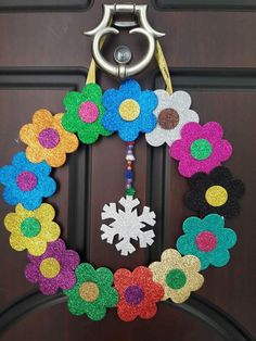 Fun Crafts For Kids, Diy Home Crafts, Easy Diy Crafts, Diy Arts And Crafts, Craft Stick Crafts, Preschool Crafts, Felt Crafts, Paper Crafts, Paper Origami Flowers