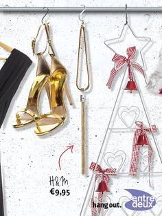 Accessoires maken je outfit af. Ga voor een mooie ketting. H&M € 9,95