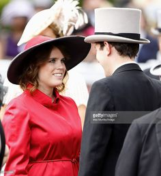 <a gi-track='captionPersonalityLinkClicked' href=/galleries/search?phrase=Princess+Eugenie&family=editorial&specificpeople=160237 ng-click='$event.stopPropagation()'>Princess Eugenie</a> of York and <a gi-track='captionPersonalityLinkClicked' href=/galleries/search?phrase=Jack+Brooksbank&family=editorial&specificpeople=7075188 ng-click='$event.stopPropagation()'>Jack Brooksbank</a> attend Day 5 of Royal Ascot at Ascot Racecourse on June 21, 2014 in Ascot, England.