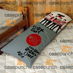 An3-rock Out With Your Socks Out Tour 5 Sos  Body Pillow Case