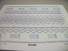 Joan- Smocking Plate Childrens Sewing Pattern Boutique | eay