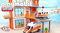 Massive Playmobil City Life Collection! Children's Hospital and 11 ...