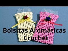 Como hacer una Bolsita Aromatica en tejido crochet tutorial paso a paso. - YouTube