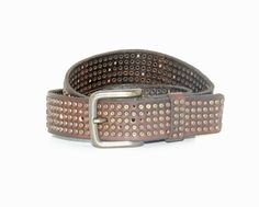 Will Leather Goods Studded Jean Belt #60241