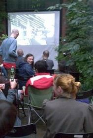 Outdoor Movie Theme Party
