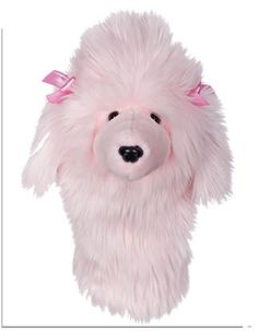 http://www.golfhq.com/pink-poodle-headcover.html