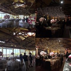 Some before and after shots of last nights wedding. Made it a starry night in…