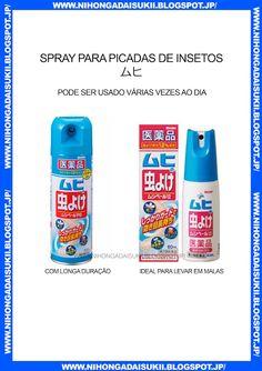 Spray para picadas de insetos